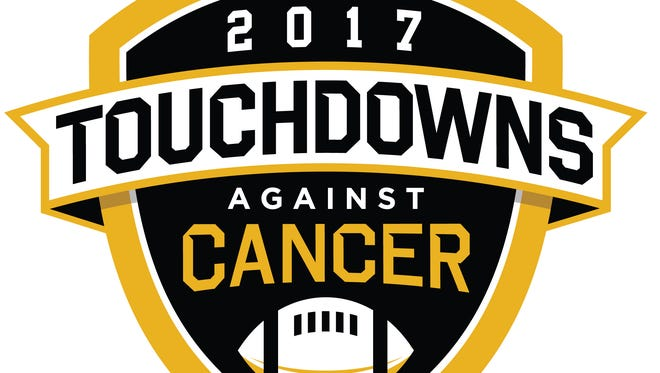 Logo for Touchdowns Against Cancer campaign.
