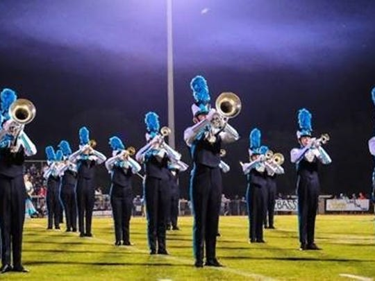 Siegel High School Marching Contest was named Grand Champions at the Columbia Invitational Marching Competition in October.