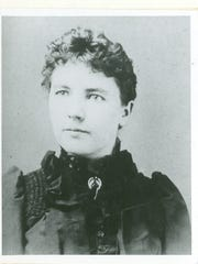 Laura Ingalls Wilder, pictured at age 27.