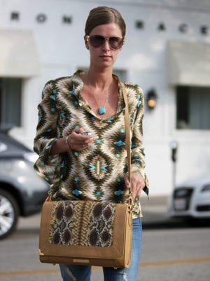 Socialite Nicky Hilton will appear at the boutique South Moon Under in The Grove at Shrewsbury on Saturday.