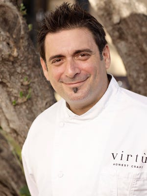 Chef Gio Osso of Virtu, as seen in Scottsdale, October 22, 2013.