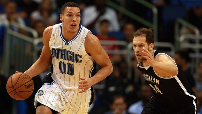Aaron Gordon is embracing his move to the small forward position.