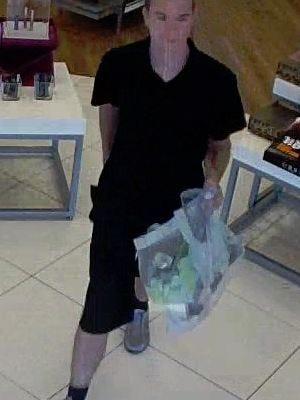 The male suspect.