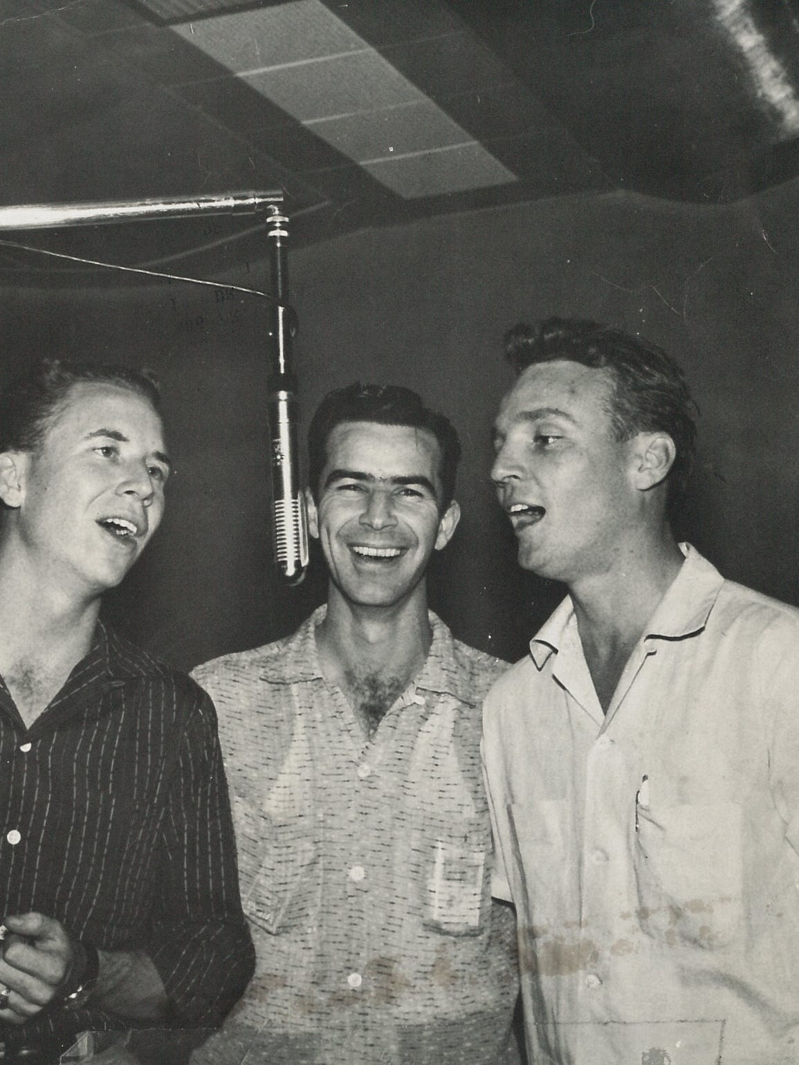 The Picks in 1957: From left, John Pickering, Bill