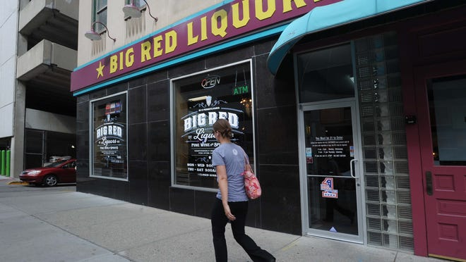 Big Red, Indiana's largest liquor store chain, has a location in Downtown Indianapolis.