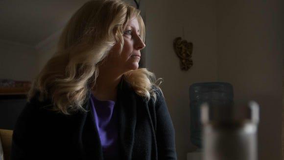 Deb McPherson, of New Castle, is a medical marijuana