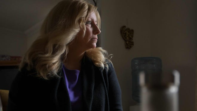 Deb McPherson, of New Castle, is a medical marijuana cardholder who uses the drug to treat Fibromyalgia and back pain. Delaware's first medical marijuana dispensary will open on June 26.