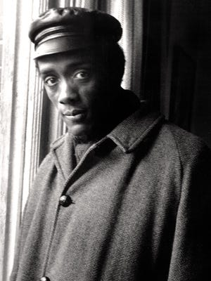 """Leni Sinclair's photo of jazz saxophonist Marion Brown. """"We were in love,"""" she says."""