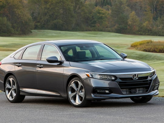 Honda is banking on the mid-size car market with cars like the 2018 Honda Accord Touring 2.0T as Ford and Fiat Chrysler focus their efforts on new classes of car-like SUVs.