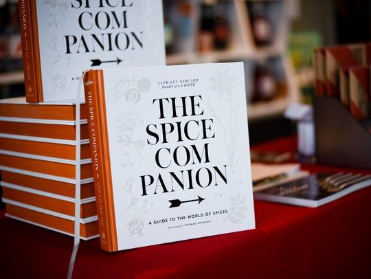 """Lior Lev Sercarz's book """"The Spice Companion"""" (Clarkson"""