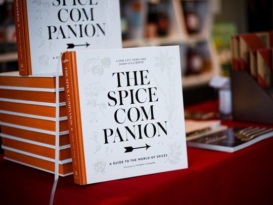 """Lior Lev Sercarz's book """"The Spice Companion"""" (Clarkson Potter, 2016) is an encyclopedia of spices and seasonings that also includes recipes and cooking tips."""