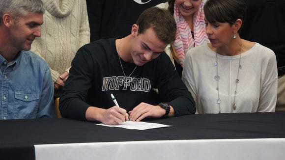 Tuscola senior Ben Nickol will play college soccer for Wofford.