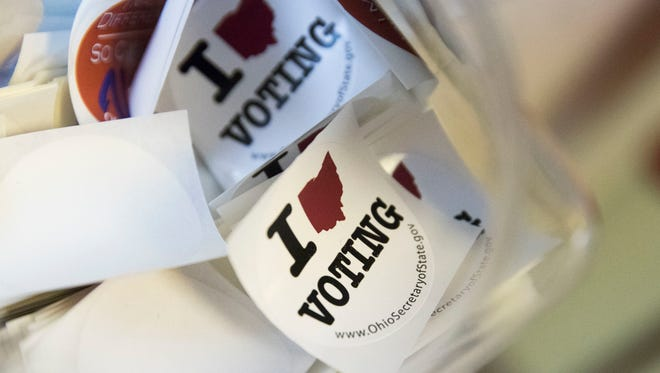 The Supreme Court on Wednesday will hear Ohio argue that its method of purging voters from election rolls doesn't violate federal laws.