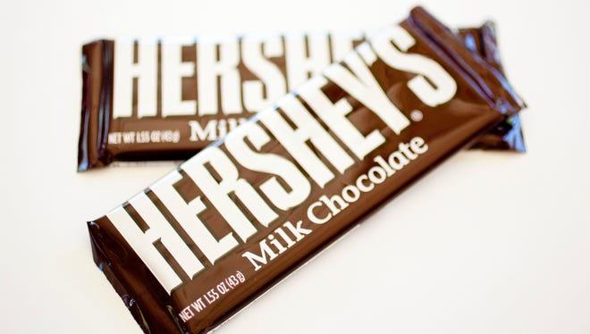 Hershey's.  Photo by Celine Hacche/The Republic.