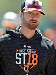 Alex Cobb has been added to a Baltimore Orioles starting rotation that also includes Dylan Bundy, Kevin Gausman, Andrew Cashner and Chris Tillman. AP FILE PHOTO