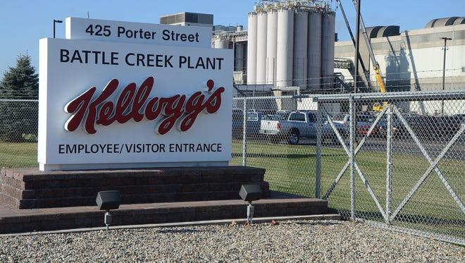Kellogg's Battle Creek Plant on Porter Street