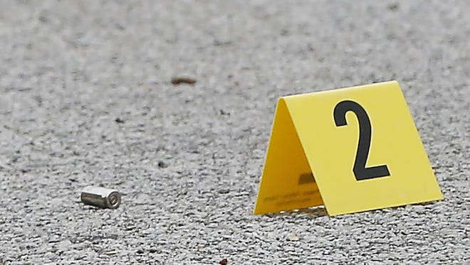 Shots fired Friday night in Emerald Pines Court damaged three cars, according to police.