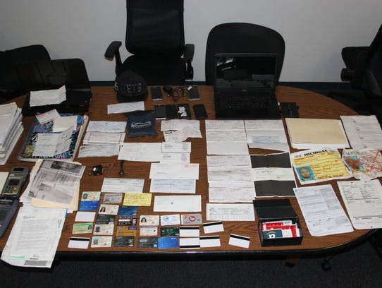 Authorities found evidence linking a Port Hueneme theft