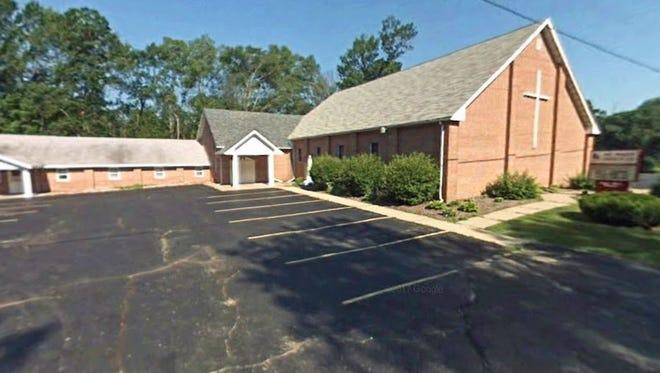 Mt. Haley Church of God near Midland, Mich.
