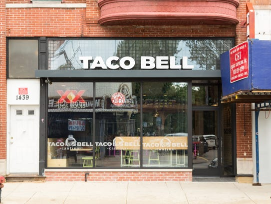 Taco Bell has a new location in Chicago that will sell