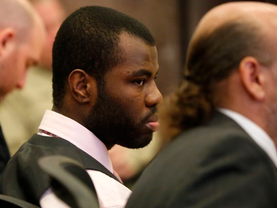 Lamar Wilson, 24 of Iowa City, stands trial on multiple