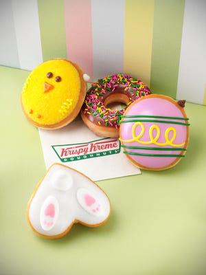 Can't wait for that Easter basket? Krispy Kreme is celebrating early.