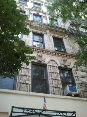 The Yanis family lived on the third floor of this apartment building in the East Village of Manhattan, about a mile from the World Trade Center.