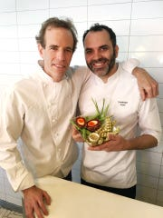 Dan Barber of Blue Hill at Stone Barns in Pocantico Hills will team up with renowned pastry chef Dominique Ansel for a limited pop-up event.