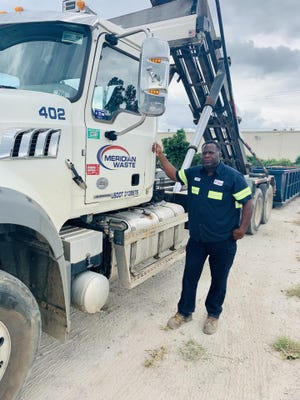 Tony Holt is a 25-year veteran of the U.S. Army and has served the Augusta area for more than 20 years as a driver with Meridian Waste and as a Columbia County firefighter.