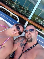 On their honeymoon cruise, Jessica and Rance swam with dolphins in Cozumel, played with baby sea turtles in Grand Cayman and soaked up the sun in Haiti.