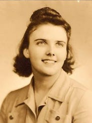 Betty Brauer as a young girl.