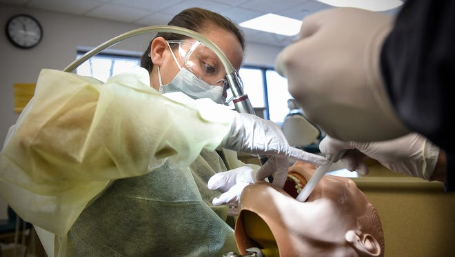Maria Aguirre is part of the Dental Assisting program at St. Cloud Technical and Community College.
