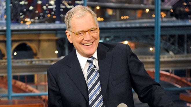 David Letterman is preparing to retire next year.