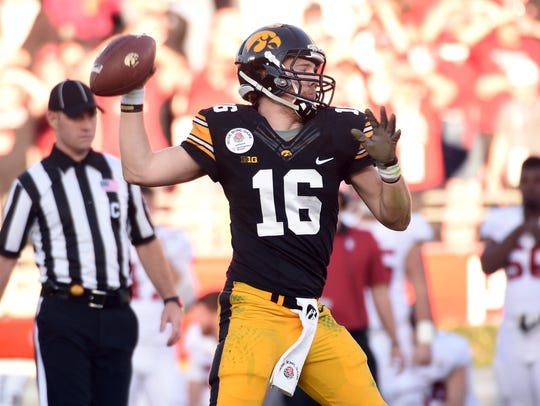 Iowa quarterback C.J. Beathard has been a part of a