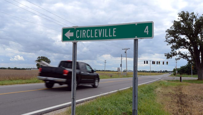 Interviews investigators conducted with inmates indicated David Johnson died near a sign on Ohio 104 that says Circleville is four miles away. One such sign is at the intersection of Ohio 104 and Ohio 56.