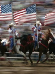 The Rodeo City Riders drill team will add to the festivities