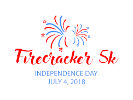 About 1,500 runners took part in the annual Firecracker