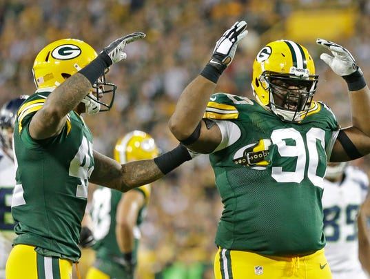 B.J. Raji, BJ Raji, Morgan Burnett