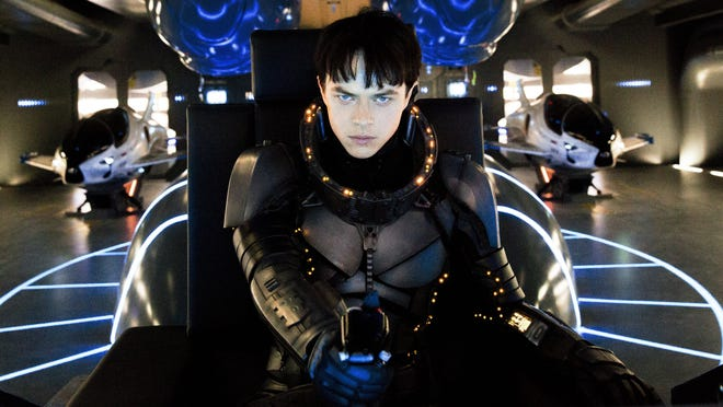 """Dane DeHaan in """"Valerian and the City of a Thousand Planets."""""""
