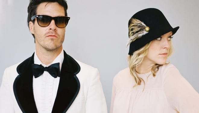"""Trent Dabbs (L) and Amy Stroup of Nashville rock duo Sugar + the Hi-lows will perform with the Nashville Ballet during a February production called """"Attitude,"""" featuring the songs of Johnny Cash."""