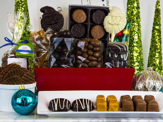 A sampling from Chocolates by Grimaldi of Grand Haven