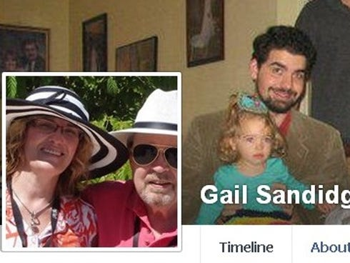 Nurse Gail Sandidge died Tuesday while trying to protect patients at a Longview, Texas, hospital, police said.