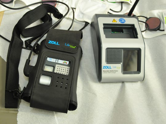 The Zoll LifeVest.