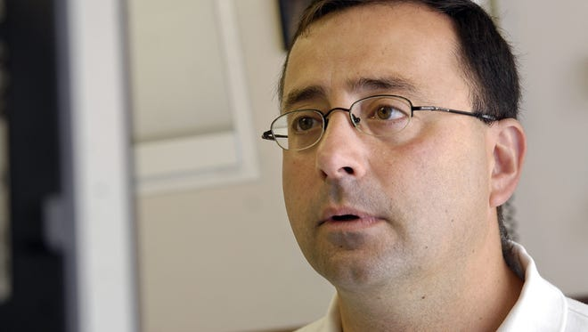 Dr. Larry Nassar, shown in this 2008 file photo.