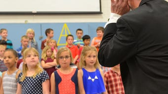 Monroe Elementary students first to use angklung