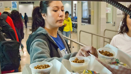 According to the Food Research and Action Center, 213,000 Indiana children ate a free school breakfast in 2014, less than half of those who participated in the federal School Lunch Program.