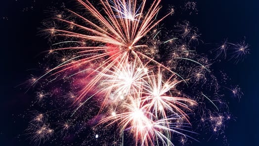 Fireworks are allowed in Chesterfield Township on Tuesday, Wednesday and Thursday from 8 a.m. to midnight.