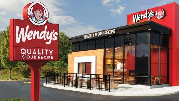 Rendering of the new Wendy's location for Wilma Rudolph Boulevard