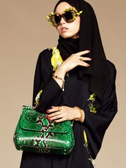 Dolce & Gabbana released a line of hijabs and abayas,