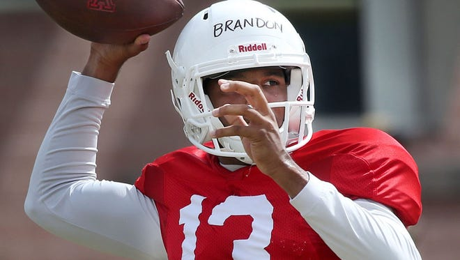 Brandon Dawkins helped solidify his starting position during Arizona's scrimmage on Saturday.